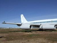 N810NA - Convair Model 30 (CV 990 Coronado) outside Mojave airport (now sadly degraded to an aircraft shaped billboard), Mojave CA