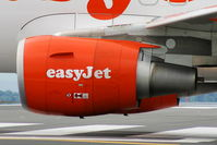 G-EZFF @ EGGP - CFMI CFM56-5B5/3 - by Chris Hall