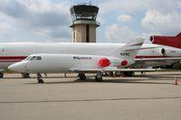 N471FL @ PTK - Falcon 20