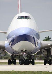 B-18707 @ MIA - China Cargo 747-400F