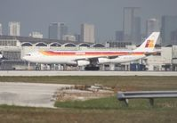 EC-HGV @ MIA - Iberia A340-300