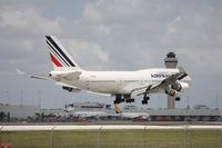 F-GITH @ MIA - Air France 747-400
