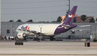N423FE @ MIA - Fed Ex A310