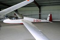 D-5624 @ LFYG - seen in a hangar at Cambrai-Niergnies - by Joop de Groot