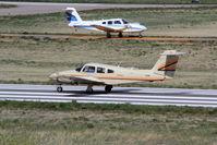N103BM @ KAPA - Taking off on 35L - by Zac G
