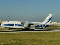RA-82045 @ LMML - An124 RA-82045 Volga Dnepr - by raymond