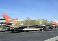 56-3141 - North American F-100D Super Sabre at the Planes of Fame Air Museum, Chino CA - by Ingo Warnecke