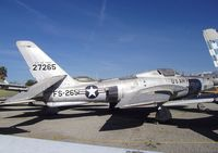 52-7265 - Republic RF-84K Thunderflash at the Planes of Fame Air Museum, Chino CA - by Ingo Warnecke