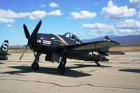 N14HP @ KCNO - Howard Pardue's Bearcat on display at the Planes of Fame Air Show - by Nick Taylor Photography