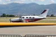 N831C @ KCNO - Taxiing out after the Air Show - by Nick Taylor Photography