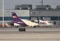 N920FX @ MIA - Fed Ex ATR 42