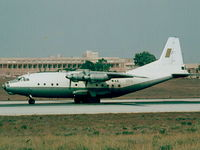 7T-WAE @ LMML - An12 7T-WAE/550 Algerian Air Force - by raymond