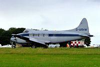 G-ARHW @ EGBP - De Havilland DH.104 Dove 8 [04512] Kemble~G 01/07/2005