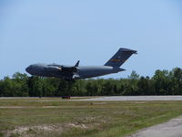 09-9206 @ ILM - C-17 coming in for the Costal Carolina Airshow - by Mlands87