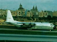 7T-WHL @ LMML - C130 Hercules 7T-WHL/4989 Algerian Air Force - by raymond
