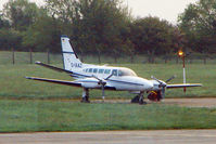 D-IAAZ @ EIDW - 1979 Cessna 404, c/n: 404-0416 at Dublin - by Terry Fletcher