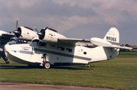 N93GS @ EGSU - Caribbean Clipper , Flying Legend Airshow , Duxford - by Henk Geerlings