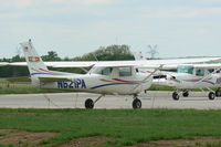 N621PA @ DTO - US Aviation Academy Cessna 152 at Denton Muncipal - by Zane Adams