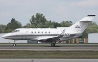 N802CF @ PTK - Hawker 800XP