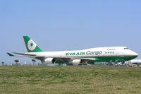 B-16463 @ DFW - EVA Air Cargo on the west freight ramp - DFW Airport, TX