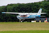 G-BHDM @ EGBP - R/Cessna F.152 [1684] Kemble~G 01/07/2005 - by Ray Barber