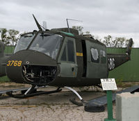 64-13768 - Vietnam-era Huey on display at the Russell Military Museum - by Daniel L. Berek