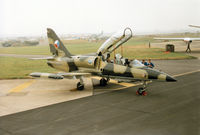 0004 @ EGVA - Another view of the 1 LSP L-39MS of the Czech Air Force on the flight-line at the 1994 Intnl Air Tattoo at RAF Fairford. - by Peter Nicholson