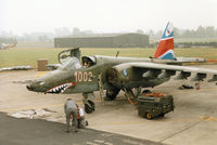 1002 @ EGVA - Su-25K Frogfoot of 30 BLP Czech Air Force on the flight-line at the 1994 Intnl Air Tattoo at RAF Fairford. - by Peter Nicholson