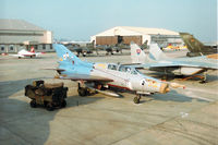 3756 @ EGVA - MiG-21UM Mongol of the Czech Air Force Flight Test Centre on the flight-line at the 1996 Royal Intnl Air Tattoo at RAF Fairford. - by Peter Nicholson