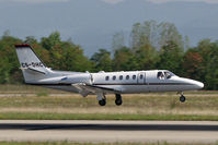 CS-DHC @ LFSB - NetJets landing on rwy 16 - by runway16