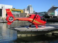 VH-JBY @ YYBK - Eurocopter EC-120B at Yarra Bank heliport Melbourne - by red750
