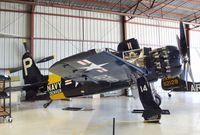 N14WB @ KCNO - Grumman F8F-2 Bearcat at the Planes of Fame Air Museum, Chino CA
