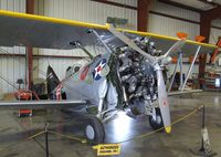 N20FG @ KCNO - Grumman F3F-2 at the Planes of Fame Air Museum, Chino CA