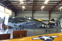 N3395G @ KCNO - Republic P-47G Thunderbolt at the Planes of Fame Air Museum, Chino CA