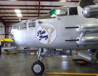 N3675G @ KCNO - North American B-25J Mitchell at the Planes of Fame Air Museum, Chino CA