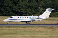 N834H @ ORF - Hillenbrand Inc's 1989 Cessna 650 Citation III N834H rolling out on RWY 5 after landing. - by Dean Heald