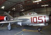 N87CN @ KCNO - Mikoyan i Gurevich MiG-15 FAGOT at the Planes of Fame Air Museum, Chino CA