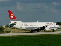 9H-ADI @ LMML - B737 9H-ADI Air Malta - by raymond