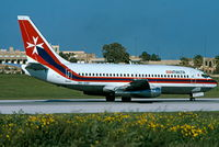 9H-ABF @ LMML - B737 9H-ABF Air Malta - by raymond