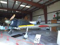 N46770 @ KCNO - Mitsubishi A6M5 Zero at the Planes of Fame Air Museum, Chino CA