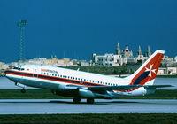 9H-ABA @ LMML - B737-200 9H-ABA Air Malta - by raymond