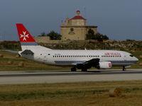 9H-ADH @ LMML - B737 9H-ADH Air Malta - by raymond