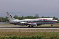 CN-RNA @ LFSB - incoming flight from Marakech - by runway16