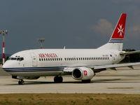 9H-ABR @ LMML - B737 9H-ABR Air Malta - by raymond