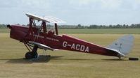 G-ACDA @ EGSU - G-ACDA at Duxford's Spring Air Show, May 2011 - by Eric.Fishwick