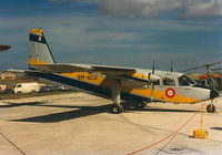 9H-ACU @ LMML - Islander 9H-ACU Armed Forces of Malta - by raymond
