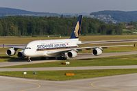 9V-SKB @ LSZH - taxying to the gate