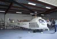 N2476B @ SZP - Bell 47H-1 at Santa Paula airport during the Aviation Museum of Santa Paula open Sunday - by Ingo Warnecke