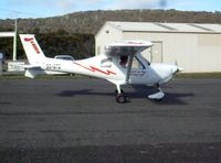55-670 @ YGTO - Jabiru 670 parked at the Main parking area, Georgetown Airport - by Friend