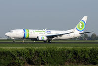 PH-HSB @ EHAM - brand new Transavia 737 - by Joop de Groot